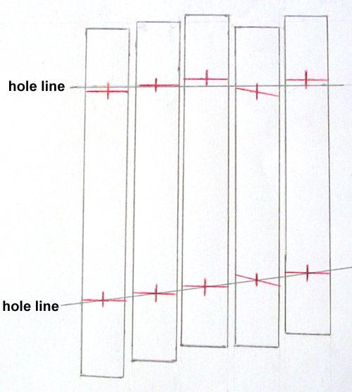 Marimba Notes Chart